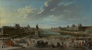 A View of Paris from the Pont Neuf