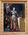 Jean-auguste-dominique ingres, giovanna d'arco alla consacrazione di re carlo VII nella cattedrale di reims, 1855, 01.jpg
