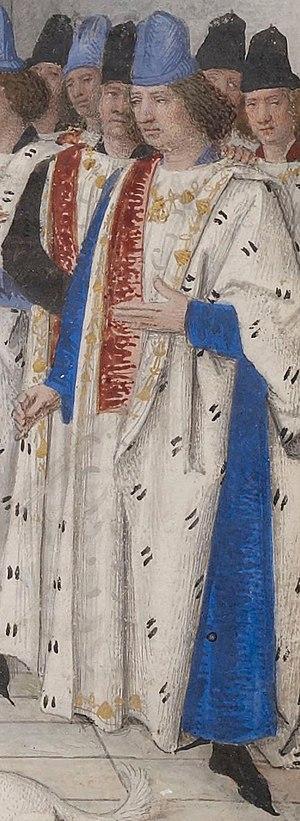John II, Duke of Bourbon - Image: Jean I Ide Bourbon Fouquet 1470
