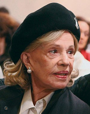 Jeanne Moreau - Moreau during filming in 2008