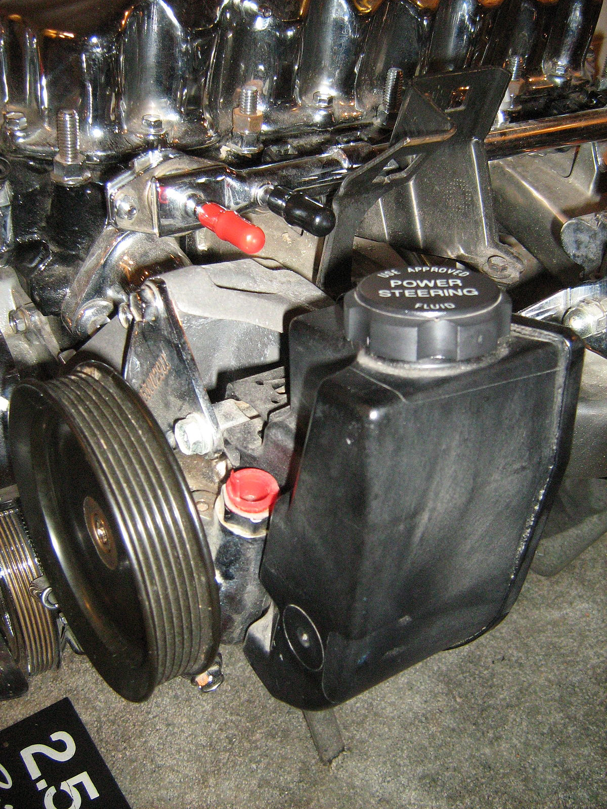 Px Jeep Liter Cylinder Engine Chromed H