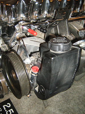 Jeep 2.5 liter 4-cylinder engine, chromed - cl...