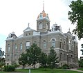 Jefferson County, Nebraska courthouse from SW.JPG
