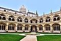 Jerónimos Monastery from inside (40653335515).jpg