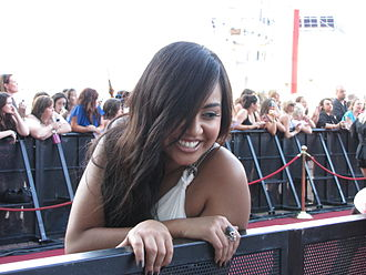 ARIA Music Awards of 2009 - Jessica Mauboy at the ARIA Music Awards red carpet.