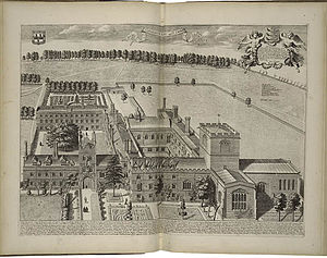 Jesus College, Cambridge - Jesus College in 1690
