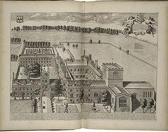 Jesus College, Cambridge - Jesus College in 1690