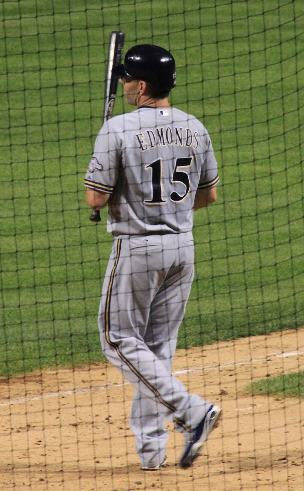 Jim Edmonds on August 2, 2010