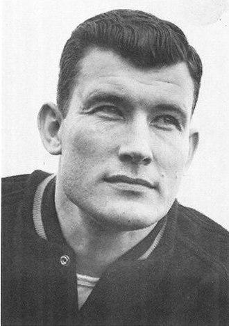 Jim Owens - Owens from 1960 UW yearbook