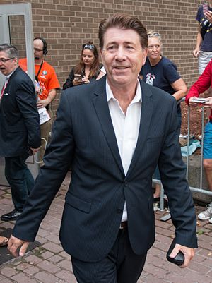 Jim Piddock - Piddock exiting the premiere of the film Mascots at the 2016 Toronto International Film Festival