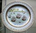 Jingdezhen Porzellan Teller Schiffe KGM 88-571.jpg