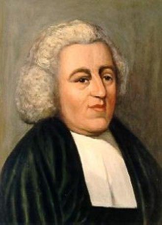 John Newton - Contemporary portrait of Newton