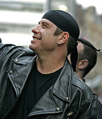 Travolta at a London premiere for Wild Hogs