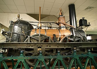 National Museum of American History - John Bull, an 1831 locomotive displayed in America on the Move, a first-floor exhibit