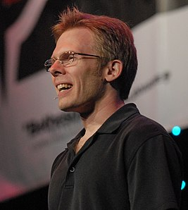 John Carmack at QuakeCon 2009 (extracted).jpg