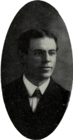 Portrait of Heisman at Clemson University, 1901