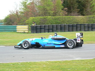John Martin (Australian racing driver) - Martin driving for Räikkönen Robertson Racing at the Croft round of the 2008 British Formula 3 season.