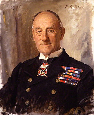 John Jellicoe, 1st Earl Jellicoe - A 1935 portrait of Jellicoe by Reginald Grenville Eves.