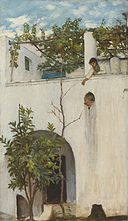 John William Waterhouse - Lady on a Balcony, Capri.jpg