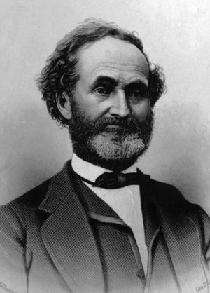 John Pack - Photograph of John Pack, Approximately 1860