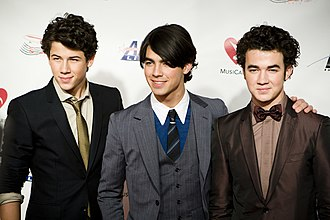 Jonas Brothers - Jonas Brothers at the Grammy Auction in February 2009