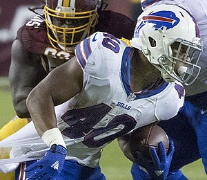 Jonathan Williams (running back, born 1994) - Williams with the Buffalo Bills in 2016