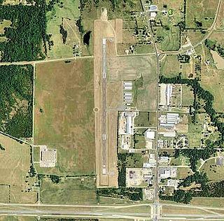 Jones Field airport in Texas, United States of America