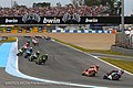Jorge Lorenzo leads the pack 2015 Jerez.jpeg