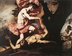 Jusepe de Ribera: Apollo Flaying Marsyas