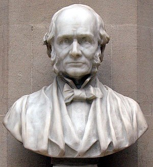 Joseph Prestwich - Bust on display in the Oxford University Museum