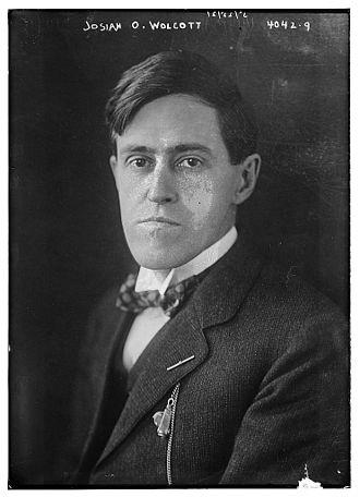 Josiah O. Wolcott - Image: Josiah Oliver Wolcott (October 31, 1877 November 11, 1938) in 1916