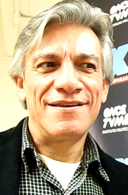 Juan Carlos Barreto in an interview in april 2012.png