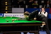 Judd Trump and Michael Holt at Snooker German Masters (DerHexer) 2015-02-04 01.jpg