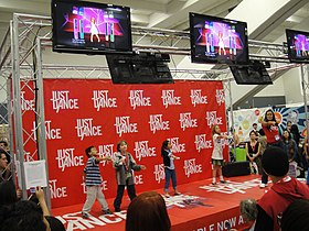 Just Dance Wondercon 2010.jpg