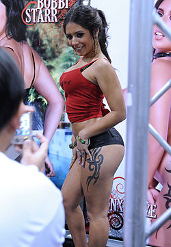 Jynx Maze at AVN Adult Entertainment Expo 2011.jpg