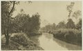 KITLV - 26897 - Kleingrothe, C.J. - Medan - Channel at Loeboe Dalam (Lubu Dalam), Binjai, East Coast of Sumatra - circa 1905.tif