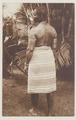 KITLV - 5355 - Maroon woman with scarification on her back in Surinam - circa 1900.tif