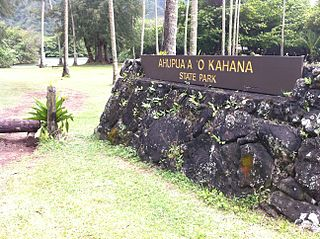 Ahupuaʻa O Kahana State Park