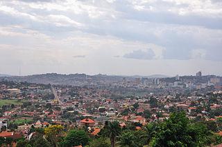 Capital city in Uganda