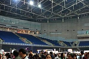 Kaohsiung Arena - Interior of Kaohsiung Arena