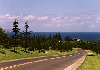 Kapalua, Hawaii - Kapalua from Route 30