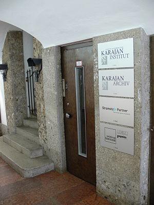 Karajan-Institut und Karajan-Archiv, Getreideg...