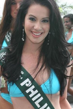 English: Karla Henry - Miss Philippines Earth ...