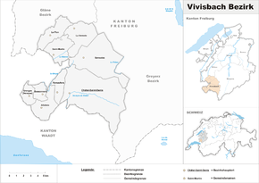 Map of Vivisbach District