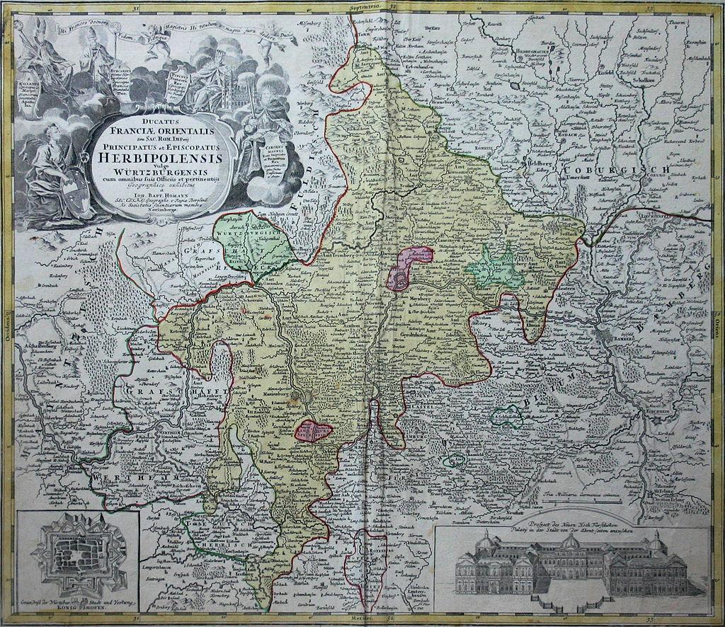 Karte Hochstift Würzburg (edit)