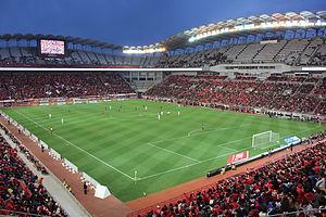 Football at the 2020 Summer Olympics - Image: Kashima Stadium 1