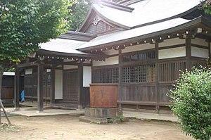Kashima Shinden Jikishinkage-ryū - Dōjō at Kashima Shinden. Kashima city, Ibaraki Prefecture, Japan
