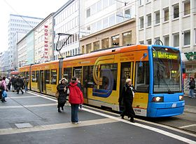 Image illustrative de l'article Tramway de Cassel (Allemagne)