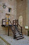 kasteeltoren, trap naar een ingangsdeur - nieuwkuijk - 20333294 - rce