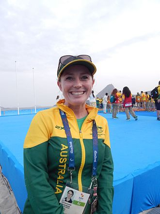 Australia at the 2016 Summer Paralympics - Kate McLoughlin, Australian Chef de Mission at the 2016 Summer Paralympic Games at the sailing event in Rio de Janeiro